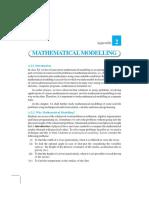 Appendix -2 Mathematical Modeling