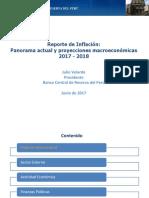 Reporte de Inflacion Junio 2017 Presentacion