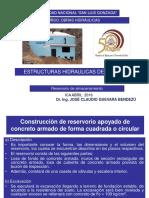 Diseño de Reservorio Apoyado