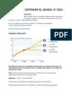 Gapminder (4º ESO)