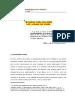 Psicología de la dis-cordia o del llamado del origen -Mtro. Marcelino Núñez Trejo