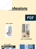 Actions and Professions