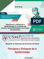 Principios y Enfoques de La Epidemiología