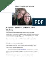 A Minha Entrevista à Tribalista Sílvia Barbosa