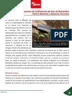 El Nitrogeno y Otros Aspectos Fundamentales en La Nutricion Organica de Los Cultivos