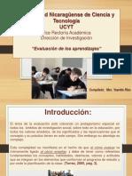 La Evalaucion de Los Aprendizajes 030317