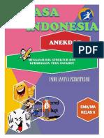 Kelas 10 Bahasa Indonesia, Indri Anatya Permatasari - Anekdot