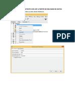 Creacion de Un Proyecto Con Jsf a Partir de Una Base de Datos