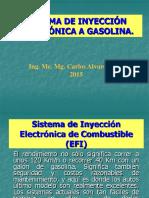 Sistema de Inyección Electrónica a Gasolina Clases