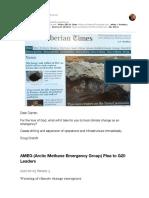Arctic Methane Emergency