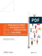 Indice Valoracion Social Civil en Chile