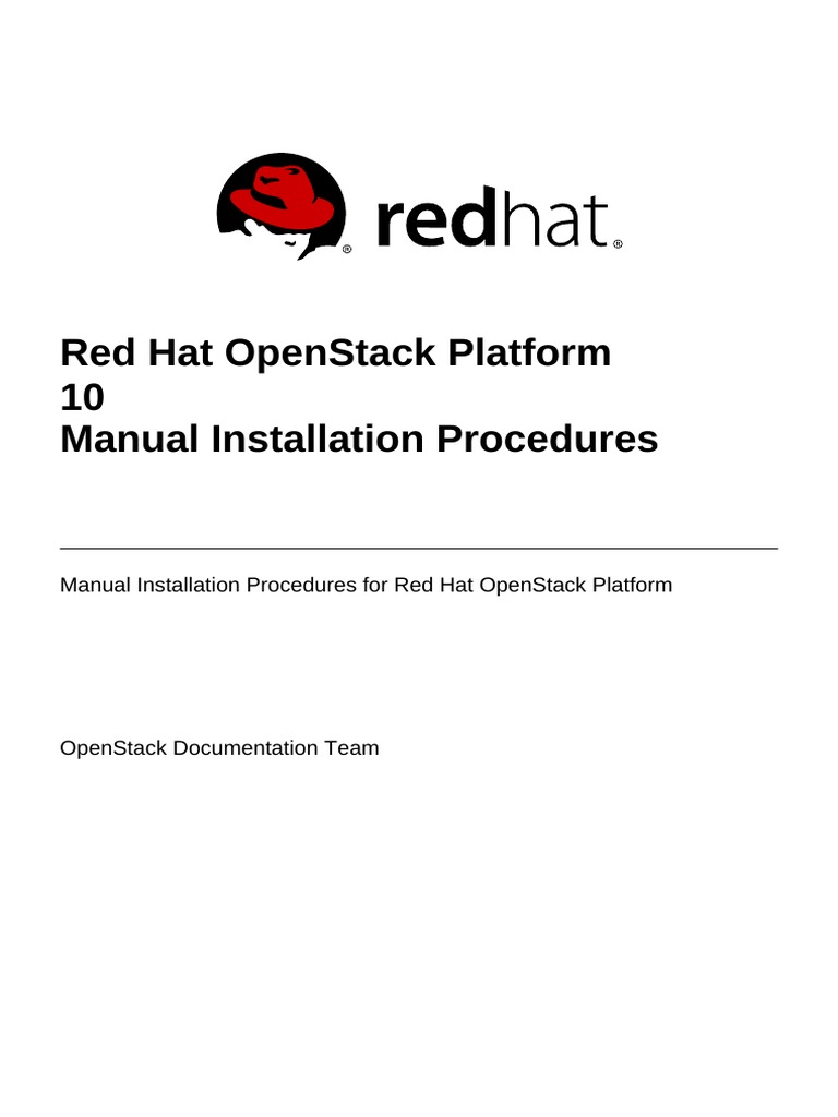 Guide Ebook Redhat Microwave Circuit Design A Practical Approach Using Ads Informit Never Miss Moment Array Red Hat Openstack Platform 10 Manual Installation Procedures En Us Rh Scribd Com