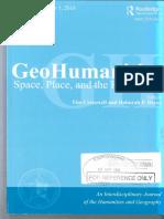 GeoHumanities - Posthuman attunements