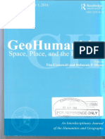 GeoHumanities - A Place for Other Stories Authorship Experimental Times