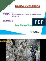 Perforación en Minería Subterranea Parte IV