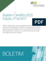 Boletim Científico - 2º bi/2017