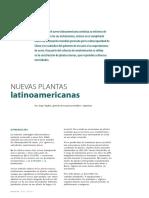 Nuevas plantas latinoamericanas