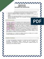 Practica Nº5 Hematologia - RECUENTO LEUCOCITARIO