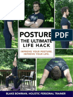 Posture, the ultimate life hack
