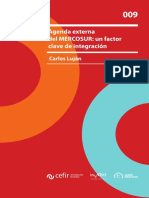 AGENDA EXTERNA DEL MERCOSUR UN FACTOR CLAVE DE INTEGRACIÓN.pdf