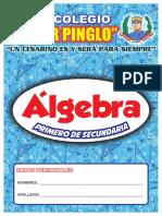 Portada Libros Algebra 1