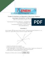 Invariantes Geométricos