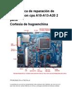 Guía Básica de Reparación de Tabletas Con Cpu A10
