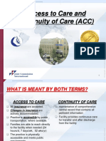 accesstocareandcontinuityofcare-120308165659-phpapp01