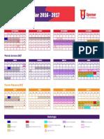 calendario 2016 upolimor