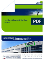 JCC Leviton Advanced Lighting Products Presentation 2017 Spain