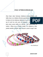 04 Diademas Intercambiables
