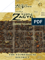 Castles & Crusades - Castle Zagyg - Yggsburgh - Storehouse District
