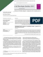 Evaluacion Forense Del Daño Psiquico Propuesta de Protocolo 2013