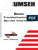 Lawnmower Tecumseh Service and Troubleshootlev90