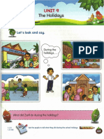 Y3 SK Textbook Unit 09 the Holidays