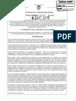 SEG SOCIAL Decreto 1990 de 2016