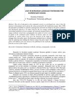 Communist Ideology in Romanian Language Textbooks//