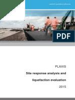 PLAXIS Site Response Analysis Liquefaction Evaluation (1)
