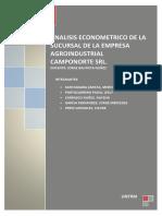 Trabajo Econometria
