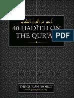40 Hadith on the Quran 2