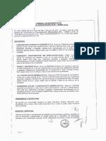 Junta General de Accionistas de Consecionaria Interoceánica Sur- Tramo 2 S.a.
