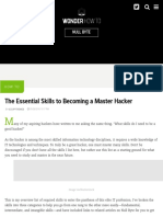 The Essential Skills to Becoming a Master Hacker « Null Byte