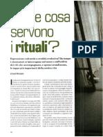 Dossier Rituali