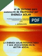 1 - Introducción Sistemas Fotovoltaicos