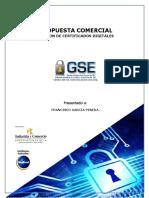 Ch171025 Propuesta Comercial Certificados Digitales Francisco García Pineda.