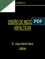Diseño de Mezclas Asfálticas