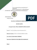 Fallo de nulidad del Consejo de estado en la república de Colombia