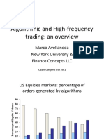 Algorithmic and High-frequency Trading - An Overview