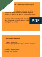 Comunicação Empresarial - Oratória - Profa. Katia R. Luizari - Aulas 4 e 5