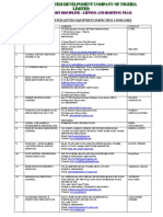 Accreditted l h Inspection Companies Updated 15012014